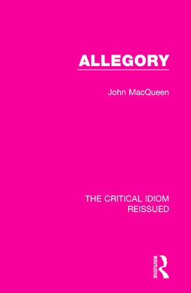 Allegory: 1st Edition (Hardback) book cover