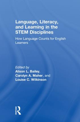 Language, Literacy, and Learning in the STEM Disciplines: How Language Counts for English Learners, 1st Edition (Hardback) book cover