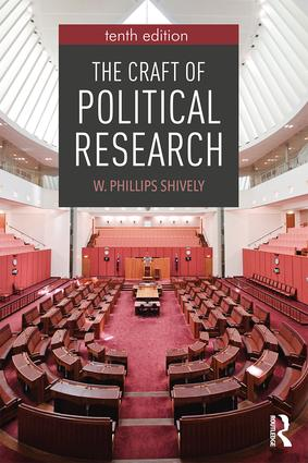 The Craft of Political Research: 10th Edition (Paperback) book cover