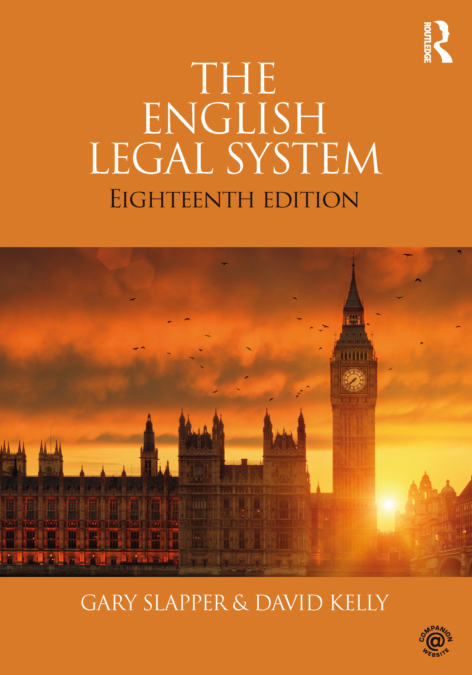 The English Legal System: 18th Edition (Paperback) book cover