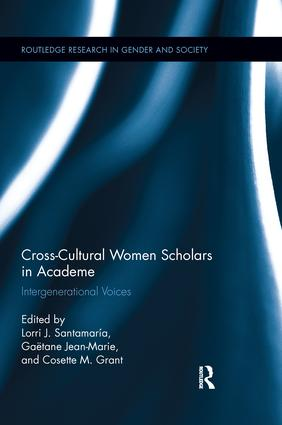 Cross-Cultural Women Scholars in Academe: Intergenerational Voices book cover