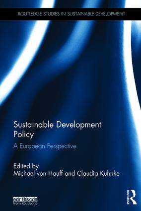 Sustainable Development Policy: A European Perspective, 1st Edition (Hardback) book cover