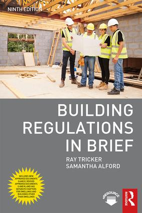 Building Regulations in Brief: 9th Edition (Paperback) book cover