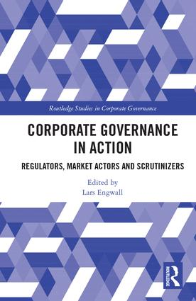 Corporate Governance in Action: Regulators, Market Actors and Scrutinizers book cover