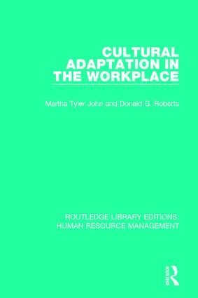Cultural Adaptation in the Workplace book cover