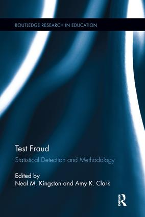 Test Fraud: Statistical Detection and Methodology book cover