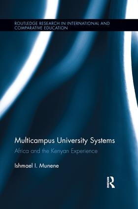 Multicampus University Systems: Africa and the Kenyan Experience, 1st Edition (Paperback) book cover