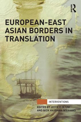 European-East Asian Borders in Translation book cover