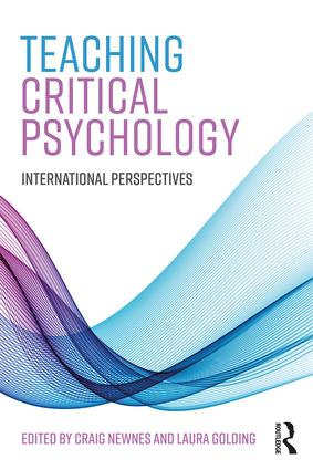 Teaching Critical Psychology: International Perspectives, 1st Edition (Paperback) book cover