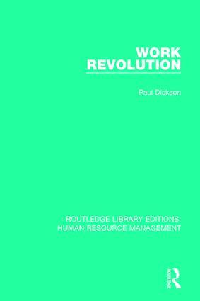 Work Revolution book cover