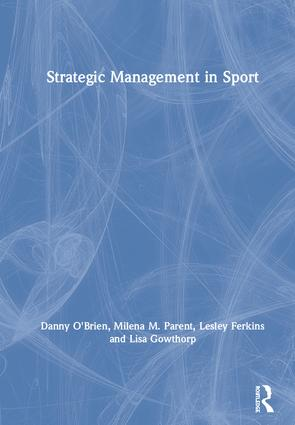 Strategic Management in Sport book cover