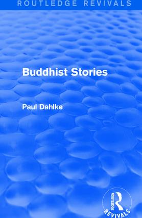 Routledge Revivals: Buddhist Stories (1913): 1st Edition (Hardback) book cover