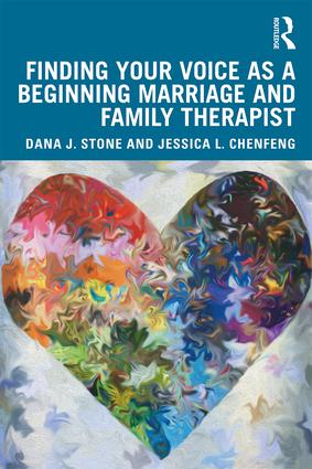 Finding Your Voice as a Beginning Marriage and Family Therapist: 1st Edition (Paperback) book cover