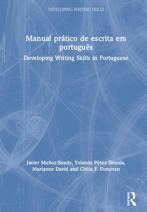 Manual prático de escrita em português: Developing Writing Skills in Portuguese book cover