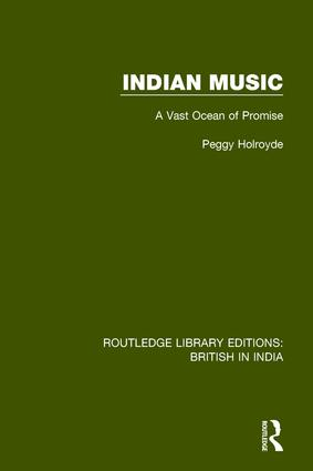Indian Music: A Vast Ocean of Promise book cover
