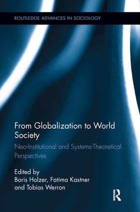 From Globalization to World Society