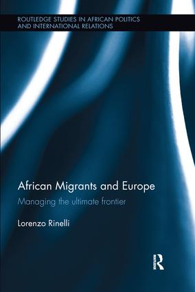 African Migrants and Europe: Managing the ultimate frontier book cover