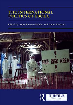 The International Politics of Ebola book cover