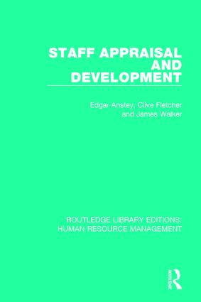 Staff Appraisal and Development book cover