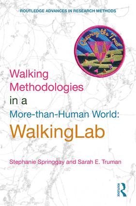 Walking Methodologies in a More-than-human World: WalkingLab book cover