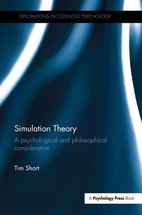 Simulation Theory: A psychological and philosophical consideration book cover
