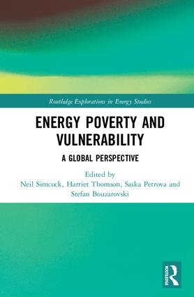 Energy Poverty and Vulnerability: A Global Perspective book cover