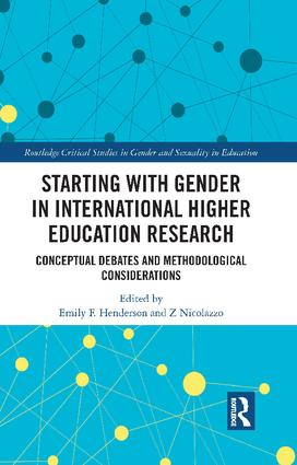 Starting with Gender in International Higher Education Research book cover