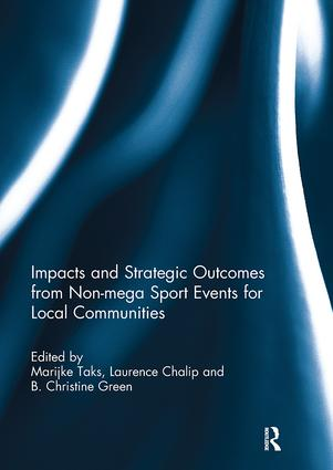 Impacts and Strategic Outcomes from Non-mega Sport Events for Local Communities: 1st Edition (Paperback) book cover