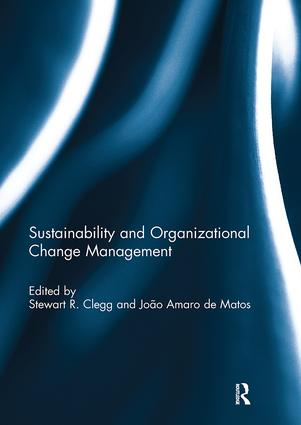 Sustainability and Organizational Change Management book cover