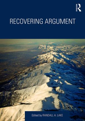 Recovering Argument: 1st Edition (Hardback) book cover