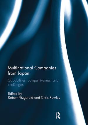 Multinational Companies from Japan: Capabilities, Competitiveness, and Challenges, 1st Edition (Paperback) book cover