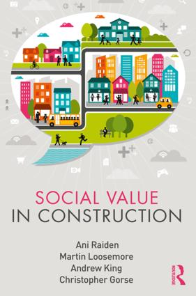 Social Value in Construction book cover