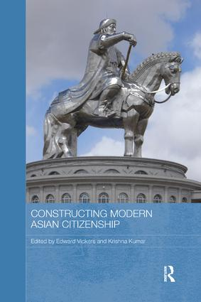 Constructing Modern Asian Citizenship: 1st Edition (Paperback) book cover
