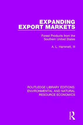 Expanding Export Markets: Forest Products from the Southern United States book cover