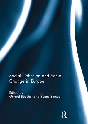 Social Cohesion and Social Change in Europe: 1st Edition (Paperback) book cover