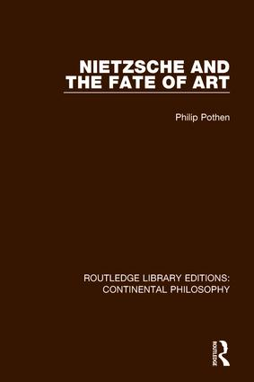 Nietzsche and the Fate of Art book cover