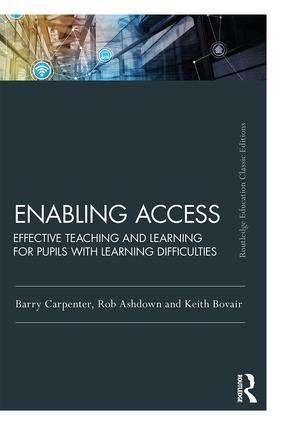 Enabling Access: Effective Teaching and Learning for Pupils with Learning Difficulties book cover