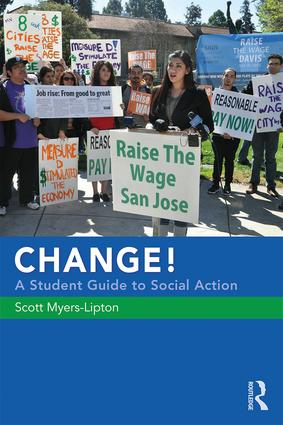 CHANGE! A Student Guide to Social Action: 1st Edition (Paperback) book cover
