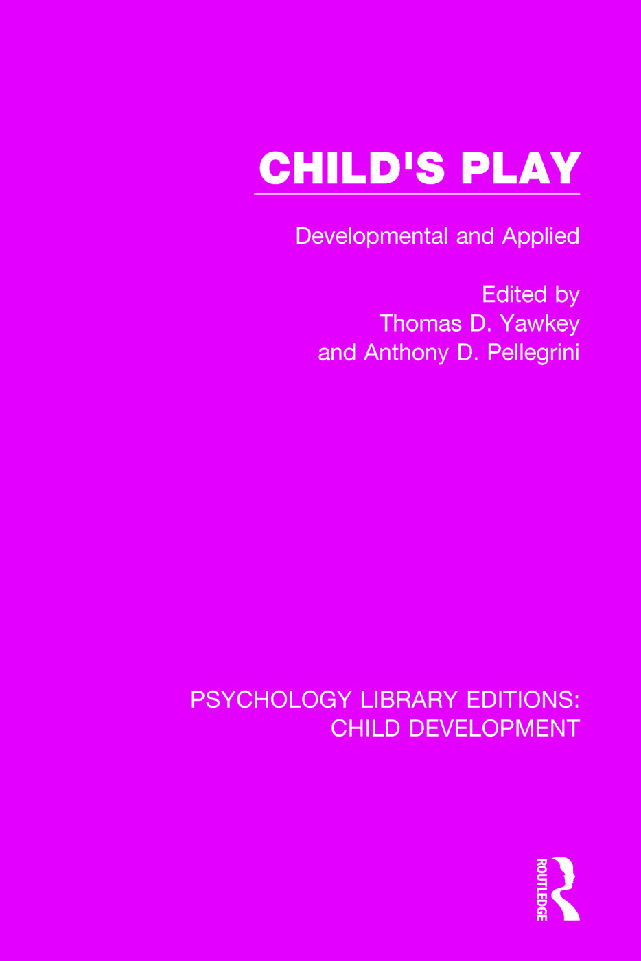 Child's Play: Developmental and Applied book cover