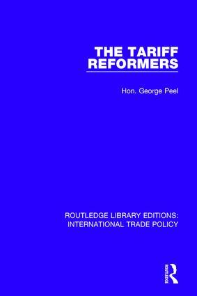 The Tariff Reformers book cover
