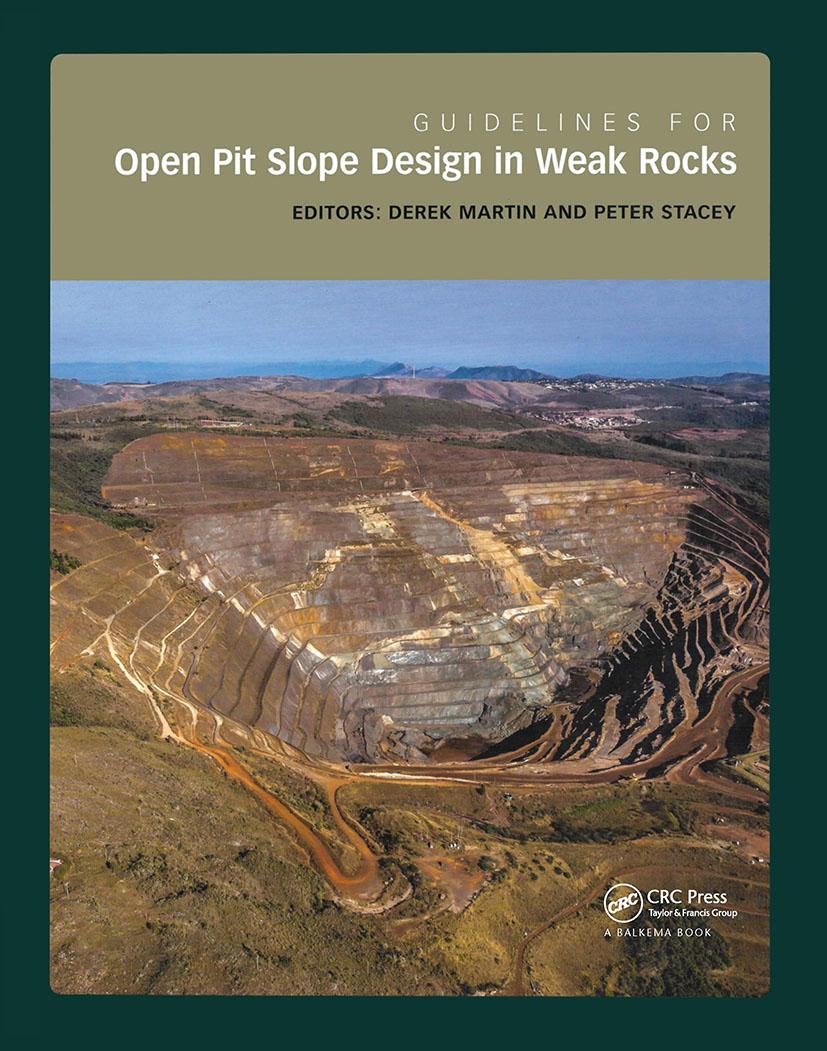 Guidelines for Open Pit Slope Design in Weak Rocks book cover