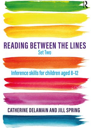 Reading Between the Lines Set Two: Inference skills for children aged 8 – 12 (Paperback) book cover