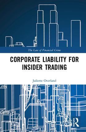 Corporate Liability for Insider Trading book cover