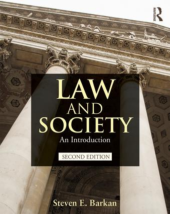 Law and Society: An Introduction book cover