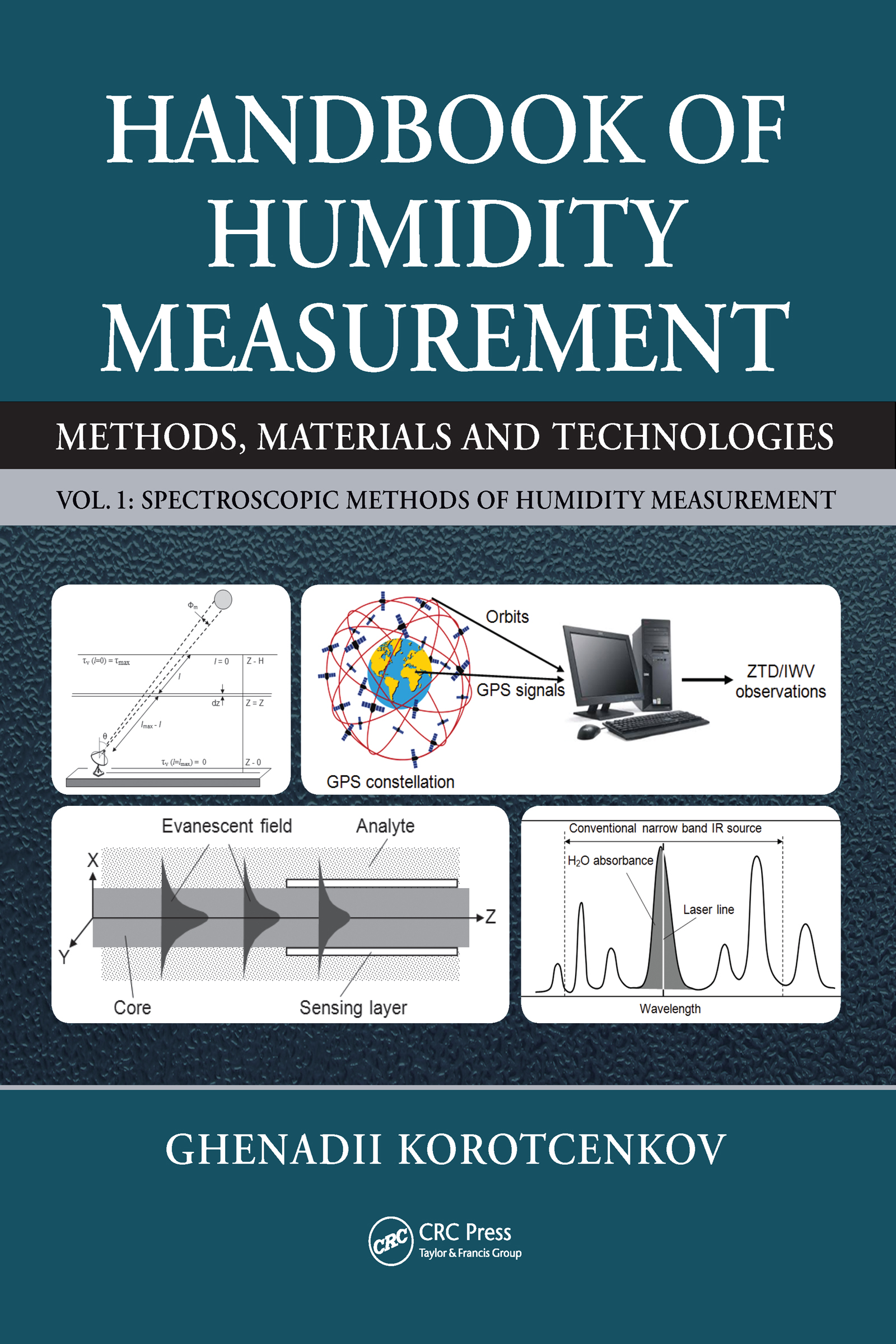 Handbook of Humidity Measurement, Volume 1: Spectroscopic Methods of Humidity Measurement, 1st Edition (Hardback) book cover