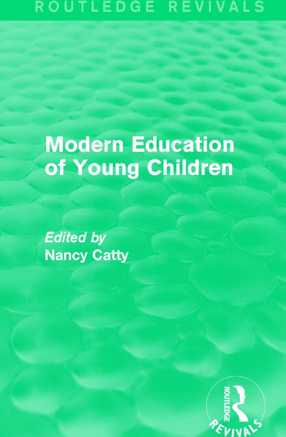 Modern Education of Young Children (1933) book cover