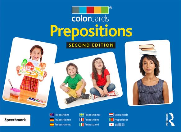 Prepositions: Colorcards: 2nd Edition (Flashcards) book cover
