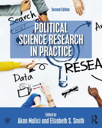 Political Science Research in Practice book cover