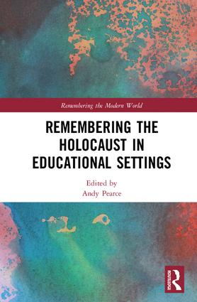 Remembering the Holocaust in Educational Settings book cover