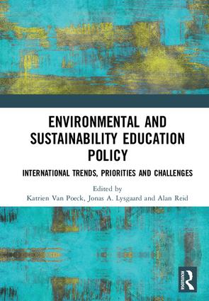 Environmental and Sustainability Education Policy: International Trends, Priorities and Challenges, 1st Edition (Hardback) book cover